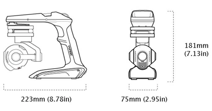 CGO Steadygrip Dimensions